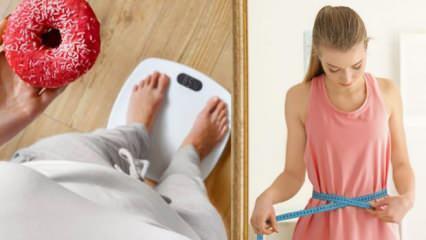 Adet döneminde kilo artışı! Adet döneminde metabolizma hızlı çalışır mı?
