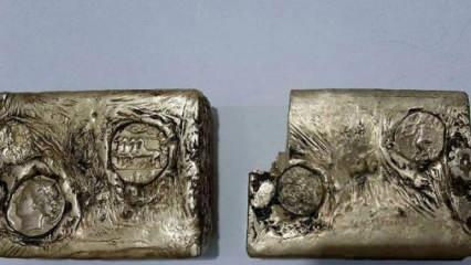 Muş'ta Antik Yunan'dan kalma külçe altın bulundu