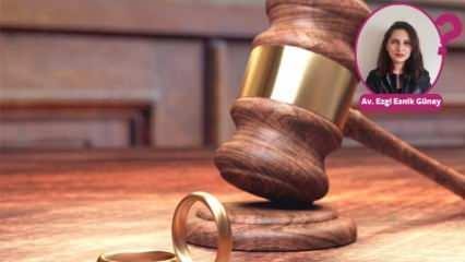 Boşanma davasında hakim nelere dikkat eder? İşte yanıtı...