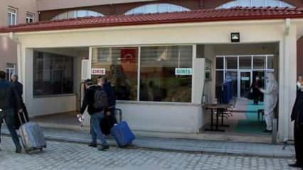 Çorum'da 18 kişi KYK yurtlarında karantinaya alındı