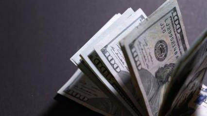 Dolar 7,70 TL'yi gördü