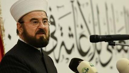Dünya Müslüman Alimler Birliği'nden Siyonist Arap liderlere çok sert tepki
