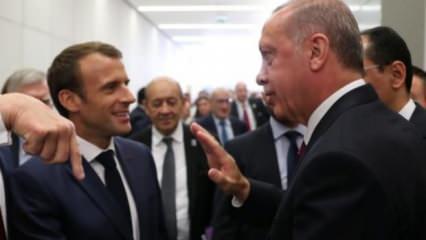 Erdoğan-Macron görüşmesinin perde arkası: Macron bilek güreşinden kaçtı