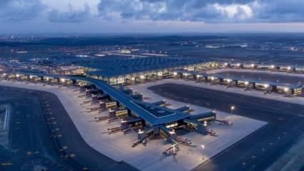 """İstanbul Havalimanı """"Çin Dostu Havalimanı"""" belgesi"""