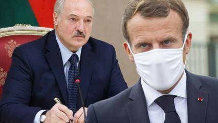 Lukaşenko: Macron'a Fransa'nın iç işleriyle meşgul olmasını tavsiye ediyorum