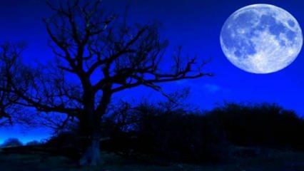 Mavi ay nedir,  Mavi ay ne zaman gerçekleşecek? Mavi dolunay NASA tarafından doğrulandı