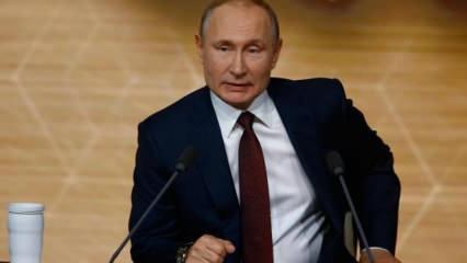 Putin açıkladı: Modern tarihte ilk defa yüzde 30'a düşecek