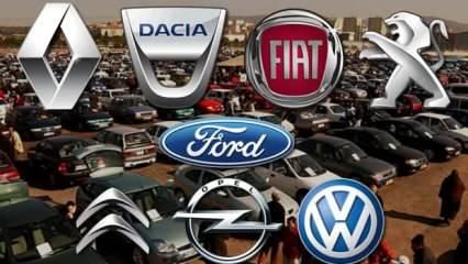 Sahibinden 80 bin TL altı ikinci el araç modelleri! Volkswagen Fiat Opel Renault Peugeot Dacia