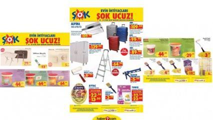ŞOK 29 Eylül aktüel ürünler kataloğu| Mobilya dolap Bavul İnşaat ürünleri Ayakkabılık ...