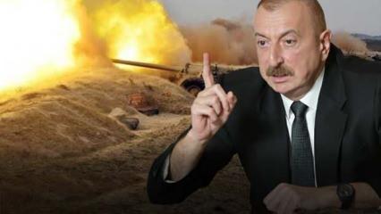 Ermenistan'dan hain saldırı: Şehit ve yaralılar var! Aliyev'den ilk açıklama