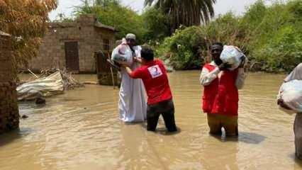 Sudan'daki felakette can kaybı 124'e yükseldi