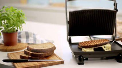 Tost makinesi nasıl temizlenir, plakaları nasıl çıkar? Tost makinesini temizleme püf noktaları