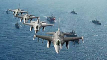 Yunan basınından akılalmaz iddia: Türk F-16'ları Sakellaropulu'nun yolunu kesti