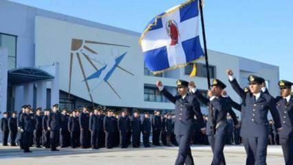 Yunan Hava Harp Okulu'nda alarm verildi