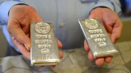 1Ekim Gümüş fiyatları yeniden fırladı! Gram Gümüş ONS Gümüş alış satış fiyatları