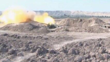 Azerbaycan ordusunun cephe hattı görüntülendi! İşte bölgeden ilk fotoğraflar...