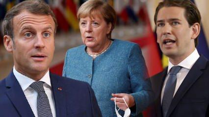 AB Zirvesi başladı! Merkel dışında Macron, Kurz, Leyen ve Michel Türkiye'yi suçladı