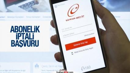 e-Devlet üzerinden abonelik iptali nasıl yapılır? İnternet, telefon, su aboneliği kapatma..