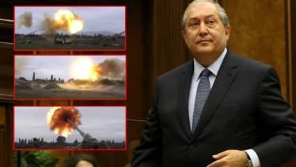 Azerbaycan-Ermenistan arasında büyük çatışma! Sarkisyan'dan Türkiye'ye akılalmaz suçlama