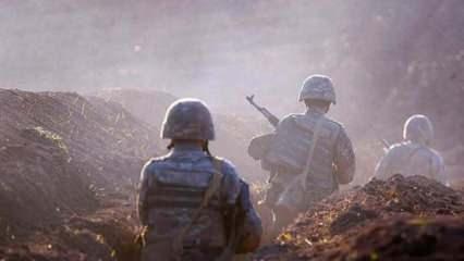 Aliyev ve Macron, cephe hattındaki çatışmaları görüştü