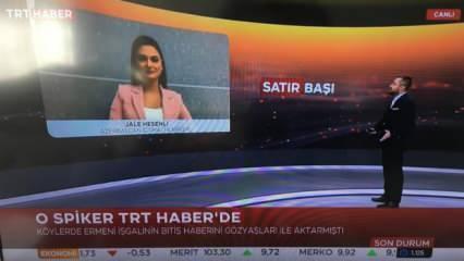 Canlı yayındaki sevinciyle tanındı: Azerbaycanlı spiker o anları anlattı