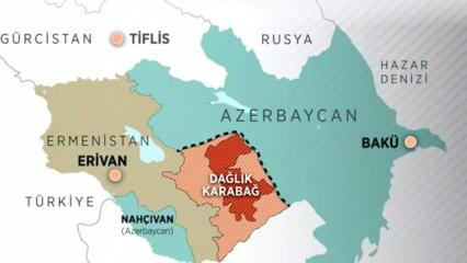 Dağlık Karabağ haritada nerede bulunuyor? Azerbaycan Ermenistan Dağlık Karabağ sorunu nedir?