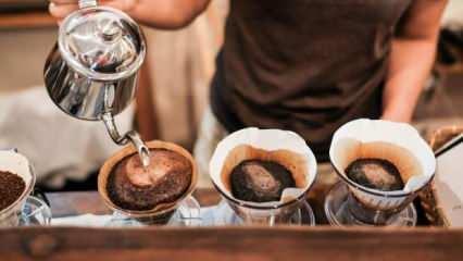 Damlama kahve nedir ve nasıl yapılır? Evde damlama kahve yapımının püf noktaları