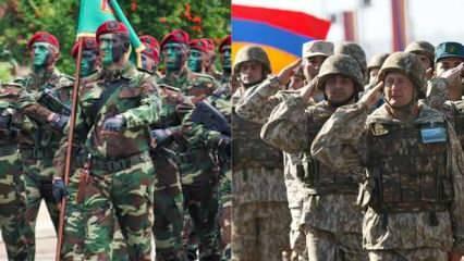 En güçlü ordular arasında Azerbaycan ve Emenistan kaçıncı sırada?