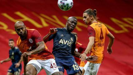 Galatasaray sahasında Fenerbahçe'yi 6 maçtır yenemiyor