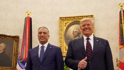 Irak Başbakanından pes dedirten sözler! 'Gitmeyin' diye ABD'ye yalvarmadığı kaldı