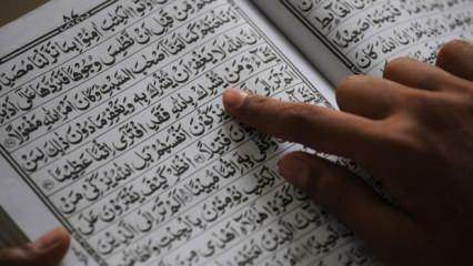 İsra Suresi faziletleri nelerdir? İsra Suresi Arapça okunuşu ve Türkçe meali...