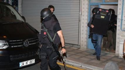 İstanbul'da terör örgütü DAEŞ'e yönelik eş zamanlı operasyon