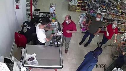 Koronavirüs hastası markette yakalandı