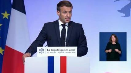 Macron şimdi de İslam'a saldırdı: İslam dünyanın her yerinde krizde