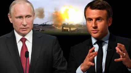 Macron ve Paşinyan'dan Türkiye'ye ağır suçlama! Bir açıklama da Rusya'dan: Desteklemiyoruz