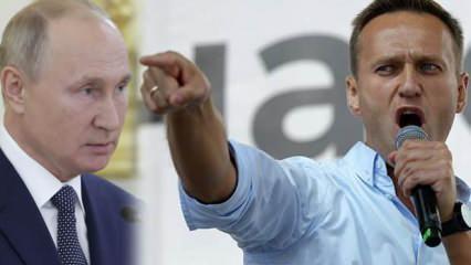 Navalny: Beni Putin zehirletti