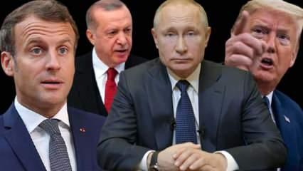 Paşinyan'ın küstahlığına Erdoğan'dan sert cevap! Trump, Putin ve Macron'dan ortak açıklama