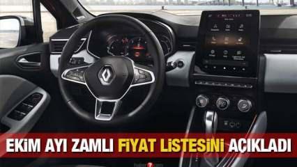 Renault 2020 sıfır araç modellerine zam geldi! Clio Symbol Megane Kadjar yeni fiyatları