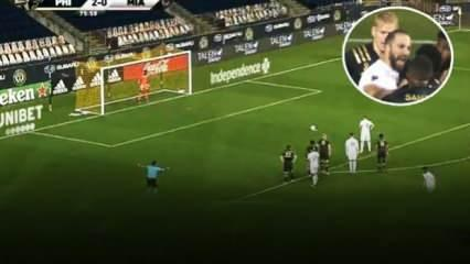 Higuain'in ilk maçında olay çıktı!