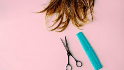 Rüyada saç kesmek ne demek? Rüyada makasla saç kesmek...