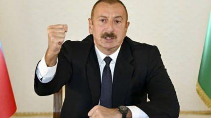 Aliyev'den Türk devletlerine mesaj! Ermenistan'a ultimatom