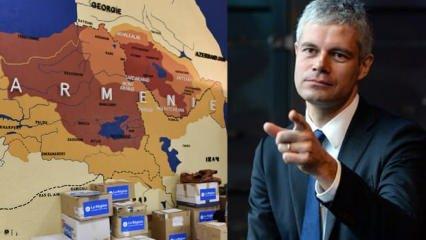 Türkiye'nin topraklarını Ermenistan'a katan skandal harita yayınlandı