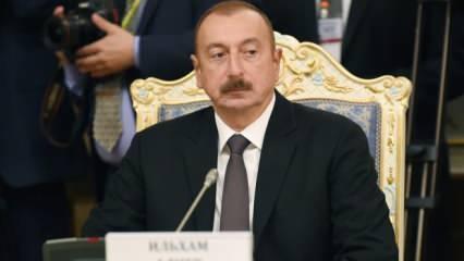 Azerbaycan Cumhurbaşkanı Aliyev'den son dakika açıklamalar