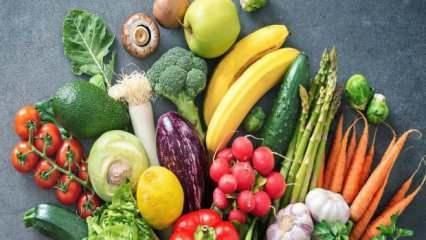Mevsiminde beslenmenin önemi nedir? Ekim ayı meyve ve sebzeleri nelerdir?