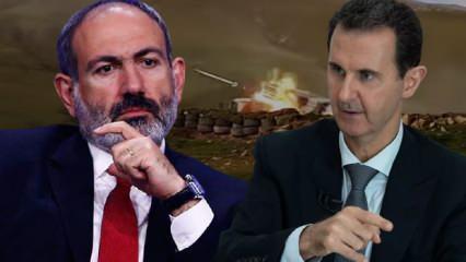 Esad Türkiye ve Erdoğan'a saldırdı! Ermenistan-Azerbaycan savaşında kahreden gelişme