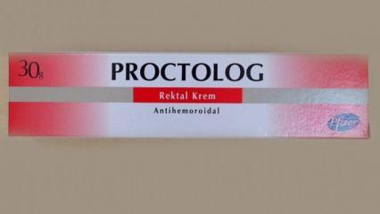 Proctolog Rektal krem ne işe yarar ve ne için kullanılır? Proctolog krem kullanma kılavuzu