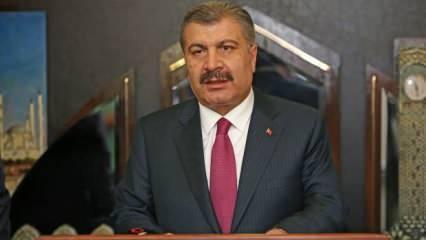 Sağlık Bakanı Koca'dan son dakika açıklama: Salgının hızı kesildi