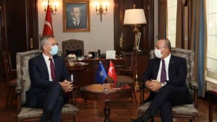 Son dakika: Bakan Çavuşoğlu Stoltenberg'in yüzüne karşı söyledi! Ankara'da kritik saatler