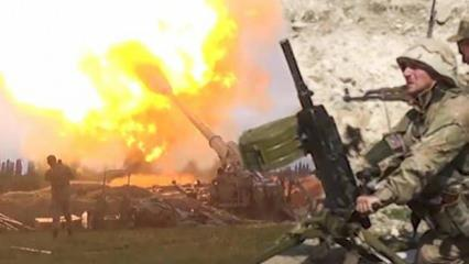 38 Ermeni askeri öldürüldü, Ermenistan ordusu sivilleri vurmaya başladı...