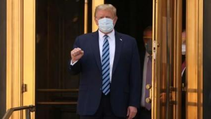 Son dakika: Koronavirüse yakalanan Trump taburcu oldu!